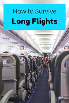 The ultimate guide on how to survive a long flight in economy- what to wear, carry-on bag essentials and other long-haul flight tips. #TravelTips