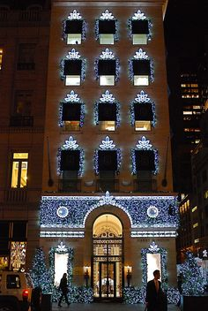 The Bejeweled House of Harry Winston on Fifth Avenue ~ New York City, New York
