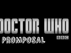 Doctor Who Promposal Seriously adorable! :)