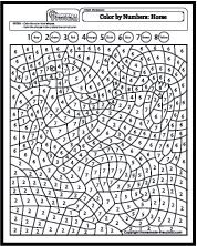 find this pin and more on color by number puzzels - Html Color Sheet