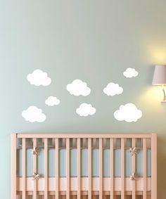 cute cloud decals