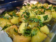 Our Parsley Potatoes are peeled red potatoes, buttered, then covered with parsley and spices and cooked to perfection. Parsley Potatoes, Catering Services, Vegetable Sides, Potato Salad, Bacon, Salads, Spices, Pasta, Beef