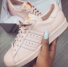 reputable site 21282 6f85e adidas superstars adidas adidas shoes light pink baby pink pink trainers  superstar pastel gold blush pink help find this peach light pink adidas  sneakers ...