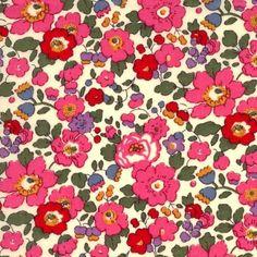 Vintage style floral print