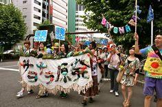 2011年のTwitNoNukesデモ。なかなかイイ。 http://twitnonukes.blogspot.jp/2011/07/723_25.html…