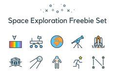 space-exploration-freebie-set