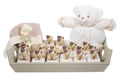 Patchi's My Little Teddy Chocolate arrangement. Adorable addition to a bear-themed baby shower