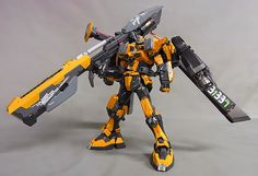 GUNDAM GUY: MG 1/100 Great Buster Gundam - Customized Build