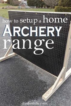Learn how to make an easy backstop for archery plus tips for setting up an archery range in your yard. Learn how to make an easy backstop for archery plus tips for setting up an archery range in your yard. Archery Range, Archery Tips, Archery Arrows, Archery Hunting, Bow Hunting, Archery Shop, Coyote Hunting, Pheasant Hunting, Shooting Targets