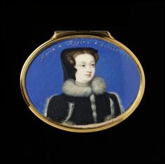 Mona Lisa, Mary, Miniatures, Queen, Portrait, Frame, Artwork, Beautiful, Decor