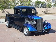 old trucks chevy Vintage Pickup Trucks, Classic Pickup Trucks, Antique Trucks, Vintage Cars, Hot Rod Trucks, Gm Trucks, Cool Trucks, Cool Cars, Station Wagon