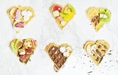Stylowo i Zdrowo - blog o zdrowiu, aktywności i urodzie: Przepis na fit gofry - idealny walentynkowy deser