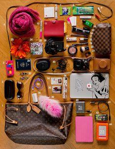 Travel essentials for women, carry on packing, road trip essentials, vacati Carry On Packing, Road Trip Packing, Packing Tips For Travel, Vacation Packing, Travel Hacks, School Emergency Kit, School Survival Kits, Bridal Emergency Kits, Travel Essentials For Women