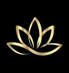 Art Lotus, Lotus Kunst, Lotus Flower Art, Flower Logo, Flower Wall, Yoga Logo, Yoga Vector, Lotus Logo, Yoga Art