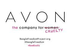 AVON - THE COMPANY FOR CRUELTY