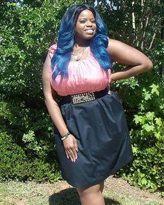 #SOLD - Coral and Black Two-Tone Dress, Size 26 by eShakti #itsgone #greatdeal #onsale #dress #eShakti #size26 #cuteclothes #curvyfashion #urbanthick #trendy #stylish #plussize #toolate #maybenexttime  uirbanthick.com