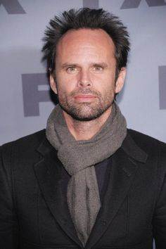 Walton Goggins My favorite crazy guy. A little bad, a little hot.  Love him on Justified.