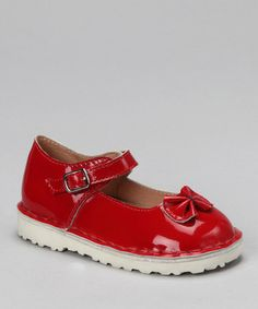 Another great find on #zulily! Red Patent Pamela Mary Jane by COCO Jumbo #zulilyfinds
