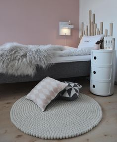 Pink Bedrooms, Shared Bedrooms, Girls Bedroom, Room Goals, Nepal, My Room, Room Inspiration, Bean Bag Chair, Room Decor