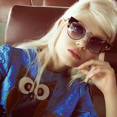 GLORIOUSLY VAPID: Ola Rudnicka for Vogue China http://www.fashion.net/today/
