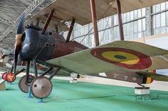 I've included this Sopwith Camel here as it was built by Clayton & Shuttleworth.    Original s/n B5747 it was used by the RFC before being passed to the Belgian Aeronautique Militaire in 1918 where it was given the identity Sc. 11.  It was passed to the Royal Army Museum in Brussels in 1920.  Information from the guide to the collection  The Royal Museum of the Armed Forces and Military History, Brussels