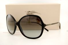 Burberry Sunglasses BE 4126 3001/11 BLACK GRADIENT GRAY