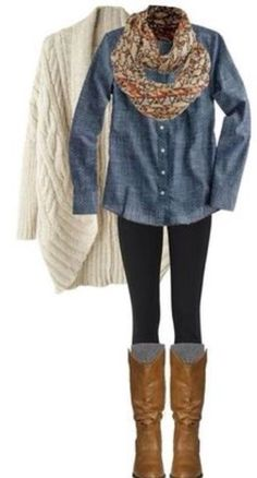 incredibly cute winter outfit
