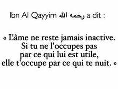 Plein de sagesse! (Ibn L Qayyim)