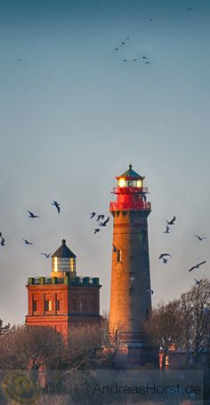 Kap Arkona Lighthouse; Rugen Island, Putgarten, Germany
