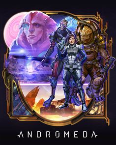 """and movie poster-inspired Mass Effect Andromeda fanart """" Jaal Mass Effect, Mass Effect Andromeda Jaal, Mass Effect 2, Mass Effect Universe, 80s Movie Posters, 80s Movies, Mass Effect Characters, Fantasy Characters, Mass Effect Funny"""