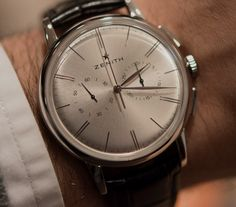 "Zenith El Primero Chrono Classic. Perfect ""Dress Chrono"""