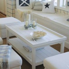 Like the table Exterior Design, Interior And Exterior, Living Room Remodel, Coastal Living, Newport, Entryway Tables, Sweet Home, Shabby Chic, Dining Table