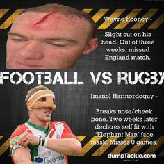 """Take note football """"lads"""". Rugby Vs Football, Rugby Sport, Rugby Wallpaper, Rugby Rules, Rugby Girls, Nz All Blacks, Hot Rugby Players, Who Plays It, Australian Football"""