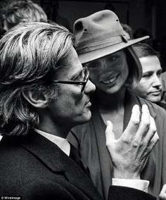 Richard Avedon and Lauren Hutton. 2 of my earliest heroes from both sides of the camera. This shot at the height of their era.