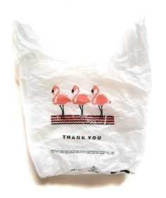 "this is the coolest ""thank you"" bag"