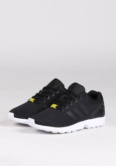 ADIDAS ZX FLUX - BLACK/BLACK/WHITE | adidas | Loaded