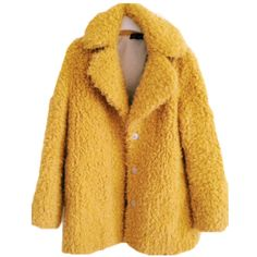 tumblr_ny33c97BUt1uhjtlqo8_1280.jpg (1280×1707) ❤ liked on Polyvore featuring outerwear, coats, jackets, tops and yellow coat