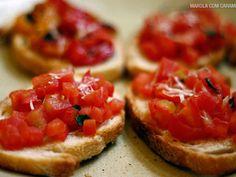 Receita Bruschetta de tomate, de MarolaCarambola - Petitchef
