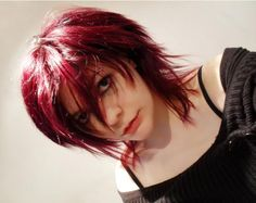 Anime Hair by bittersweet-rose on DeviantArt Short Emo Haircuts, Scene Haircuts, Anime Hairstyles In Real Life, Pretty Hairstyles, Hair Inspo, Hair Inspiration, Pelo Emo, Anime Haircut, Mullet Hairstyle