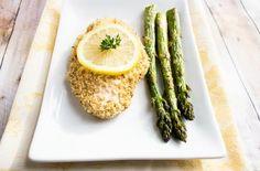 skinny lemon chicken with asparagus