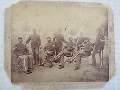 What a photograph...Fly's Gallery Tombstone A.T. NCO Black Buffalo Soldiers Photograph Infantry  Alfred Franklin Corporal Leggett Company B Discharge