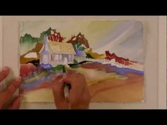 Watercolor for Beginners (Episode 26): English Cottage in Watercolor with Jan Fabian Wallake