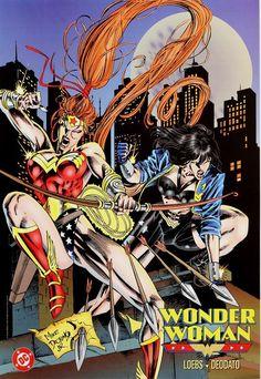 Wonder Woman & Artemis by Mike Deodato Jr.