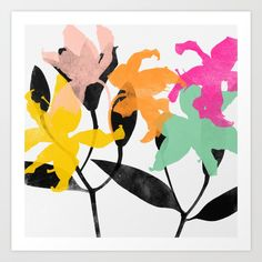 Buy lily 2 Art Print by garimadhawan. Worldwide shipping available at Society6.com. Just one of millions of high quality products available.