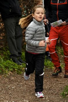 "Danish Princess Isabella participates in the ""Find your way Day"", 05.04.14"