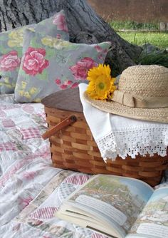 Cabin Cottage : A Vintage Picnic Picnic Time, Summer Picnic, Picnic Parties, Beach Picnic, Outdoor Parties, Summer Time, Summer Fun, Lazy Summer Days, Spring Summer
