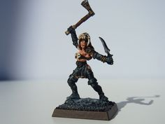 Caella Death Cultist Dungeons and Dragons by BloodyEllMiniatures