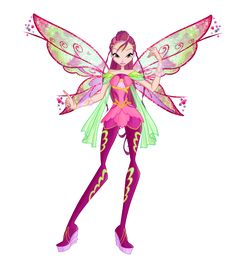 Winx club season6 Roxy Bloomix design by Forgotten-By-Gods on deviantART