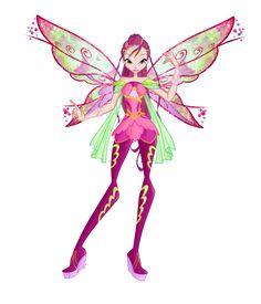 Winx club season6 Roxy Bloomix design by Forgotten-By-Gods on deviantART