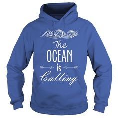 Ocean is Calling, Order HERE ==> https://www.sunfrog.com/Hobby/111714024-360944290.html?6432, Please tag & share with your friends who would love it, #renegadelife #superbowl #birthdaygifts